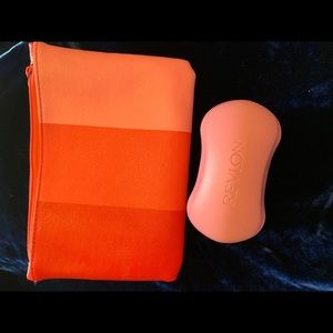 Other - Ipsy Makeup Bag with Revlon Callous Shaver